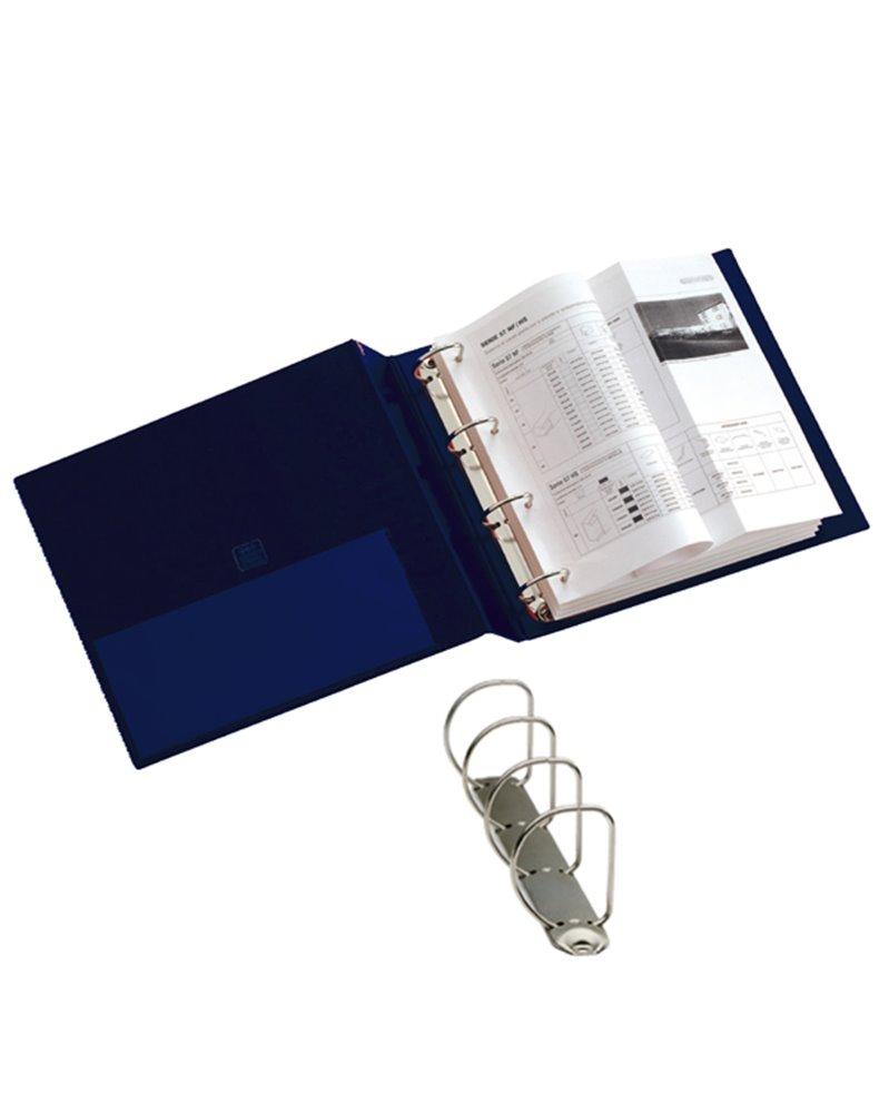 Raccoglitore STELVIO 50 A4 4D blu 22x30cm SEI ROTA