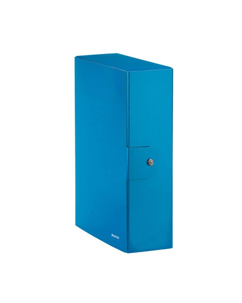 Scatola progetto WOW dorso 10cm blu metal LEITZ