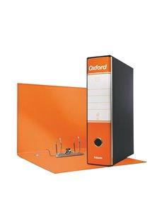 Registratore OXFORD G85 arancio dorso 8cm f.to protocollo ESSELTE