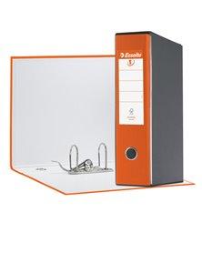Registratore EUROFILE G55 arancio dorso 8cm f.to protocollo ESSELTE