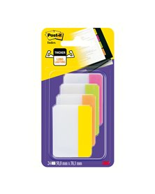 BLISTER 24 Post-it® INDEX STRONG 686-PLOY 50,8X38MM X ARCHIVIO