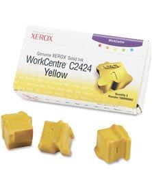 SOLID INK GIALLO ORIGINALE PER XEROX WORK-CENTRE C2424 (3 STICK)