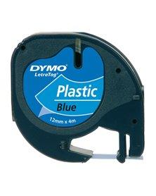 NASTRO IN PLASTICA DYMO LETRATAG 12MMX4M BLU 912050