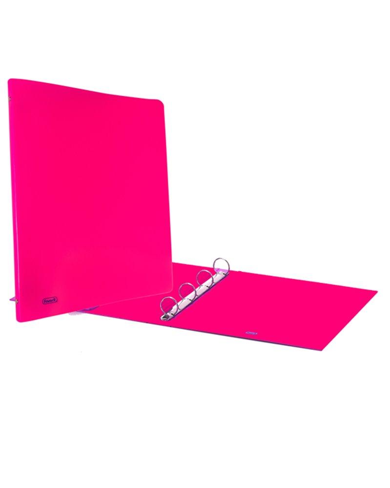 Raccoglitore Europa 4010 22x30mm 4R dorso 30 rosa neon Favorit