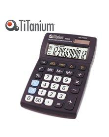 CALCOLATRICE DA TAVOLO 12 CIFRE 73030 TiTanium
