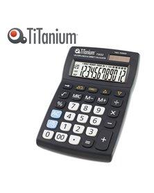CALCOLATRICE DA TAVOLO 12 CIFRE 73032 TiTanium