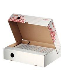 Scatola archivio SPEEDBOX dorso 80mm 35x25x8cm apertura totale ESSELTE