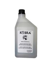 Olio per distruggidocumenti - flacone 1lt - Kobra