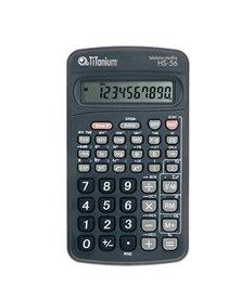Calcolatrice scientifica 10 CIFRE HS-56 TiTanium