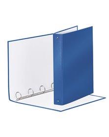 RACCOGLITORE Meeting 30 A4 4R IN PPL Blu Metal Esselte