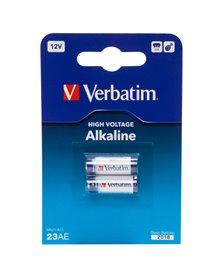 BLISTER 2 MICROPILE ALKALINE MIN21 12V VERBATIM