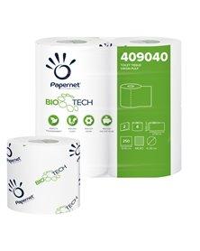 Pacco 4RT carta igienica classica 2veli 27,5mt 250 strappi BioTech Papernet