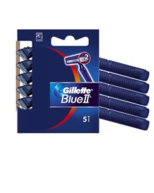 Gillette Blue II Standard - KIT 5 RASOI USAGETTA