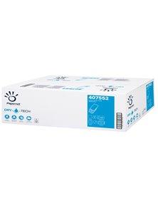Pacco 100 asciugamani piegati a W goffrato a onda Dry Tech Papernet