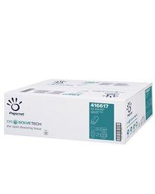 Pacco 200 asciugamani piegati a Z goffrato a onda DissolveTech Papernet