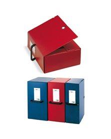 Scatola archivio Big 200 250x350mm rosso c/maniglia Sei Rota