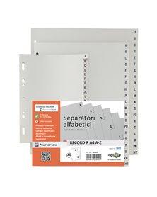 SEPARATORE ALFABETICO A-Z 24,5X30 PPL RECORD RA4 A-Z MAX SEI ROTA