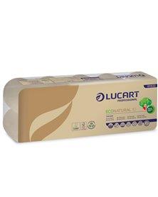 Pacco 10 rotoli Carta Igienica 180 strappi EcoNatural Lucart