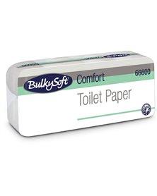 Pacco 10 rotoli Carta Igienica 145 strappi Comfort BulkySoft
