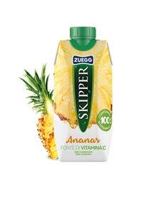 Succo Skipper gusto ANANAS BRICK 330ml Zuegg