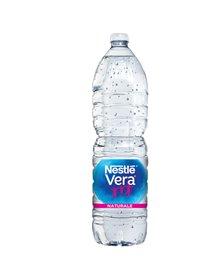 Acqua naturale bottiglia PET 1,5lt Vera