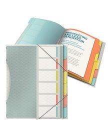 Libro monitore con 6 divisori multicolore Colour'Ice Esselte