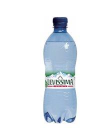 Acqua frizzante bottiglia PET 100 riciclabile 500ml Levissima