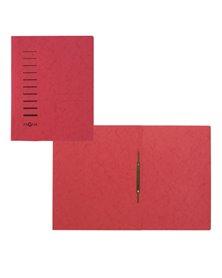 Cartellina rossa in cartone con pressino fermafogli A4 PAGNA