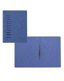 Cartellina blu in cartone con pressino fermafogli A4 PAGNA