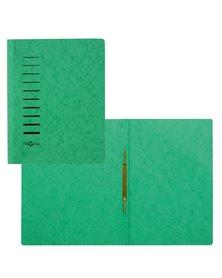 Cartellina verde in cartone con pressino fermafogli A4 PAGNA