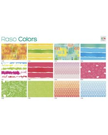 Scatola 100fg carta regalo Raso Colors 70X100cm SADOCH