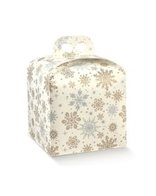Scatola portapanettone 200x200x180 mm crystal 38224 SCOTTON