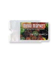 Busta porta card 1P TRASP. 1 tasca 5,8X8,7CM Sei rota