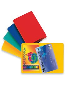 Busta PORTA CARD 2 COLOR 2 tasche col.ass. 5,8X8,7cm Sei rota