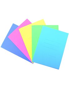 25 cartelline 3L pastello C/stampa rigatura lilla CARTEX BLASETTI