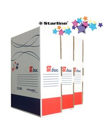 Scatola archivio ST-BOX A4 LEGAL 250x350mm Dorso 8,5cm STARLINE