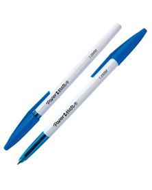 Penna a sfera con cappuccio PaperMate 045 punta 1,0mm blu