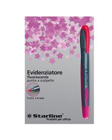 EVIDENZIATORE STARLINE FUCSIA P.SCALPELLO 1-4MM