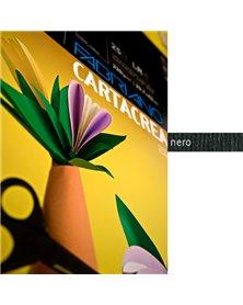 Blister 10fg cartoncino 35x50cm 220gr nero Cartacrea Fabriano