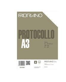 PROTOCOLLO A4 BIANCO 200FG 60GR FABRIANO