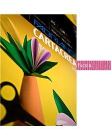 Blister 10fg cartoncino 35x50cm 220gr fucsia Cartacrea Fabriano