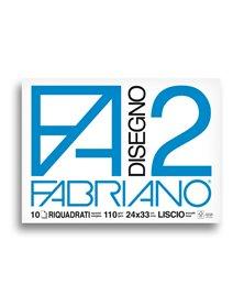 ALBUM P.M. FABRIANO2 (24X33CM) 10FG 110GR LISCIO SQUADRATO