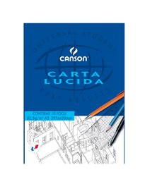 BLOCCO CARTA LUCIDA MANUALE 297x420mm 10FG 80GR CANSON
