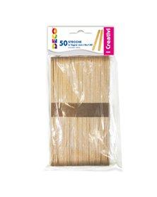 Stecche in legno 50pz dim. 18x150mm CWR