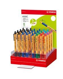 6030/32-1 Espositore 32 penne pointball colori assortiti Stabilo