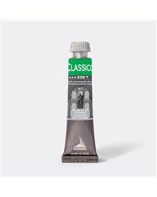 Colore a olio extrafine 20ml verde permanente chiaro Maimeri