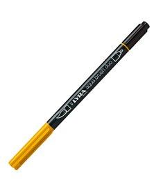 Pennarello a 2 punte AQUA BRUSH DUO giallo cromo scuro LYRA L6520009