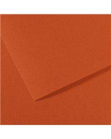 Foglio MI-TEINTES A4 cm 160 gr. 130 terra rossa