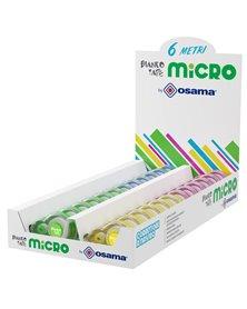 Box 24 correttori Bianco Tape Micro dispenser in colori assortiti Osama