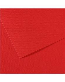 Foglio MI-TEINTES A4 cm 160 gr. 505 rosso vivo